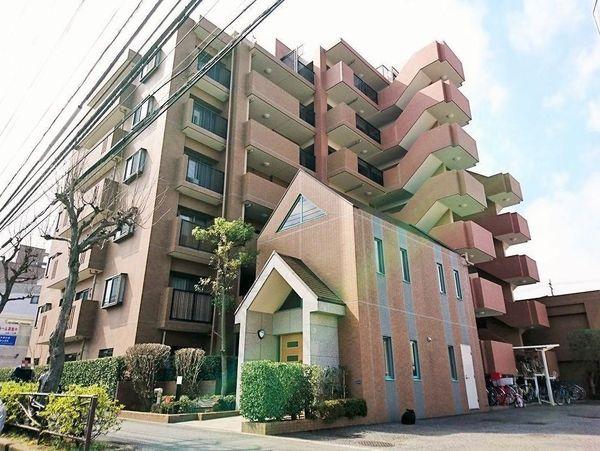 ステイツ武蔵新城モールサイド ルーフバルコニー大
