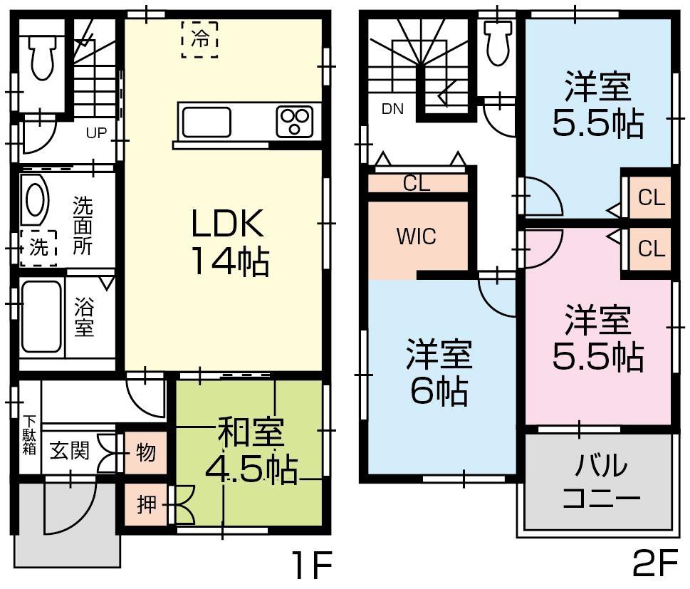 竜南3丁目B号地 新築住宅
