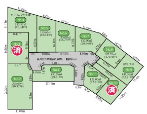 SmartVillage黒砂3丁目 全11区画