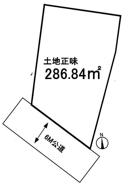 越生町上野東 売地