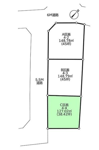船橋市印内3丁目 全3区画 C号地