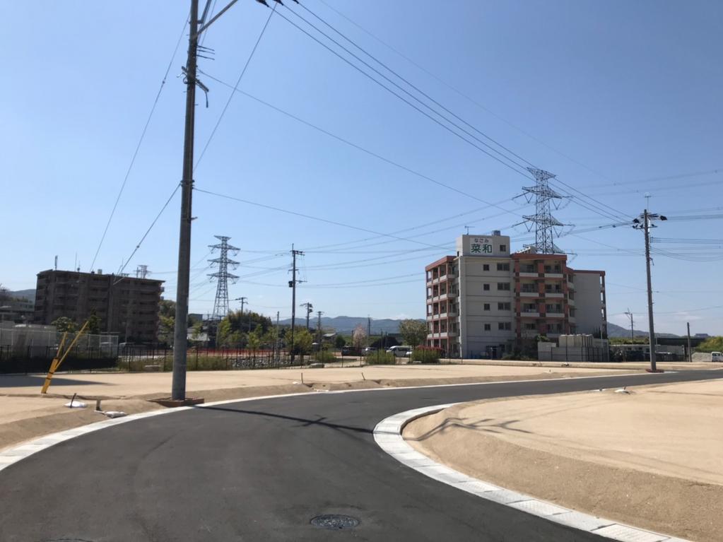 筑紫駅桜並木通り(土地区画整理事業)