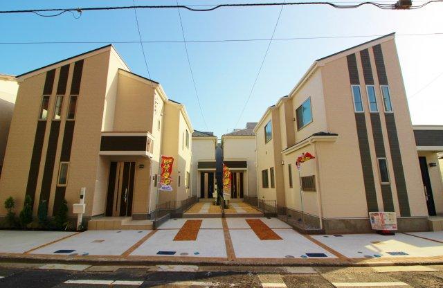 Heartful-Town-Isogo全4棟堂々完成