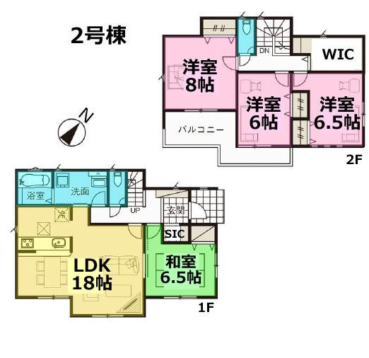 GRAFARE 宇都宮市清原台4期 全2棟 2号棟